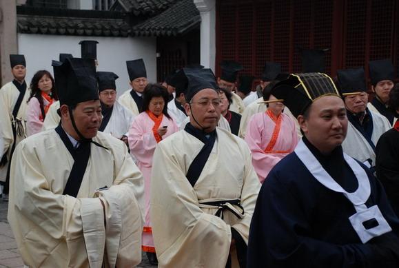 曲阜分会受邀参加上海文庙家祭
